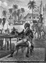 The Haiti revolution started in 1791 when100,000 of the 500,000 slaves started to revolt against their French masters. The picture is of Toussaint L'Ouverture who was a slave but soon became the leader of the Haiti revolution. In 1802 he was taken prisoner by the French and died in April 1803. But the revolution did not stop and on January 1, 1804 Haiti became the first slave colony to free itself from Europe.  Tre E.