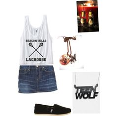 Untitled #44 (Teen Wolf Beacon Hills Lacrosse Tank WITH Back Detail $22)