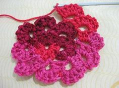 Meladoras Creations | Flower Spiral Motif – Free Crochet Pattern
