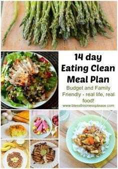 2 week clean eating Healthy Recipes, Clean Eating Recipes, Healthy Cooking, Real Food Recipes, Healthy Snacks, Cooking Recipes, Eating Healthy, Clean Meals, Clean Foods