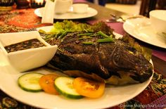 The Pinaputok na Tilapia makes for a scrumptious and hearty meal.