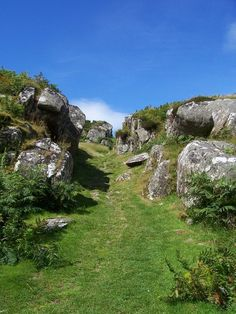 entrance of Dunadd Fort, Kilmartin Glen, Scotland - (explore your biking wanderlust on www.motorcyclescotland.com)