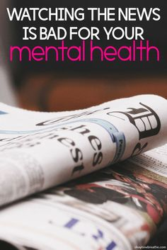 Bad news on top of bad news really affects my mental health. Here are the reasons I limit the amount of news I watch so I can have a better mental health