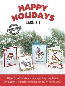 Exclusive Happy Holidays Card Kit - only available while supplies last!