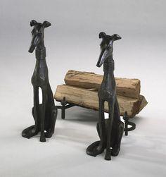 Cyan Design Dog Andirons, Set/2 - Cyan Design 01855