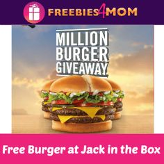 Free Burger at Jack in the Box