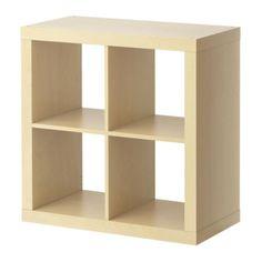 EXPEDIT Regal IKEA Kann je nach Bedarf an der Wand befestigt oder auf den Boden gestellt werden.