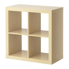 EXPEDIT Shelving unit IKEA Can be hung on the wall or placed on the floor; choose what fits your needs best.