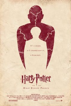 Rediseñando posters: Harry Potter and the Half-Blood Prince