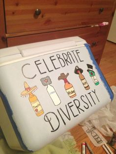 Celebrate diversity by taking all kinds of shots