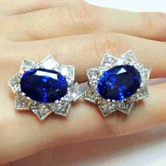 Sapphire diamond earring No heating 2pcs 20+cts Burma Ceylon。#burma #beautifulphoto #sapphire #diamond #dia #diamonds #día #diamondearrings #ceylonsapphire #ceylon #royals #royal #royalblue #blue #luxury #luxurydesign #luxuryjewelry #luxurystyle #fashion #fashiondesign #fashionjewelry #fashiondesigner #fashions #fashionshow #beautiful #beautifuljewelry #jewelrydesign #jewelry