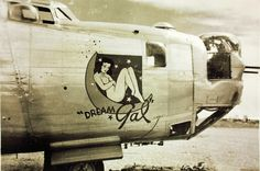 """Dream Gal"" 380th Bomb Group Consolidated B-24 Liberator by San Diego Air & Space Museum Archives, via Flickr"