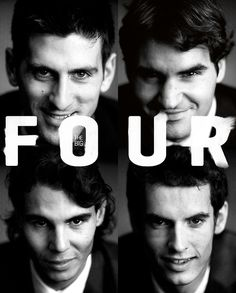 ATP: Djokovic, Federer, Nadal and Murray