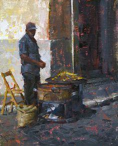 Jennifer McChristian (Canadian, 1986-) > The Roaster   Oil, 12 x 9