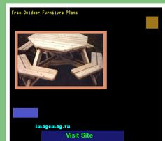 Free Outdoor Timber Furniture Plans Homemade Wood Patio