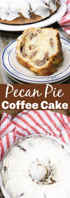 Pecan Pie Coffee Cake – Moore or Less Cooking Incredibly moist and delicious Pecan Pie Coffee Cake for breakfast, snack or dessert. Pecan Recipes, Best Cake Recipes, Cupcake Recipes, Baking Recipes, Dessert Recipes, Bread Recipes, Keto Recipes, Breakfast Snacks, Breakfast Cake