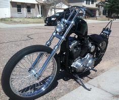 LA Choppers Chrome 7//8 12 Narrow Z-Bars Handlebars Motorcycle Metric Bobber
