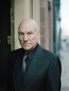 Patrick Stewart - all that Earl Grey has made him the most photogenic person on the planet.