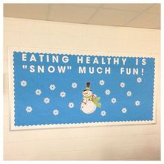 Practicing Habits is Snow Much fun. habits on snowflakes Cafeteria Bulletin Boards, Camping Bulletin Boards, Cafeteria Decor, Nutrition Bulletin Boards, Thanksgiving Classroom Door, Christmas Bulletin Boards, Winter Bulletin Boards, School Cafe, School Lunch