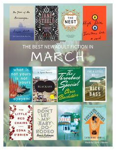 This flyer is a great way to generate interest in the best new adult fiction in March. consider creating bookmarks and shelf talkers to help guide them to other great titles. NoveList can help you build any list. Add them to a folder and automatically create bookmarks in seconds!