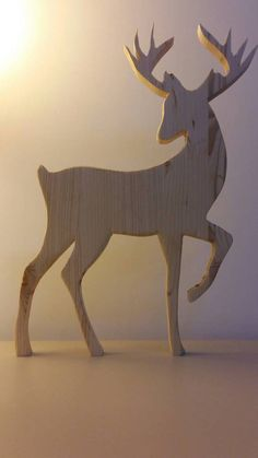 Wooden reindeer Silhouette-Christmas decor … – Tables and desk ideas Christmas Yard Art, Wooden Christmas Decorations, Reindeer Decorations, Christmas Wood Crafts, Nordic Christmas, Christmas Projects, Christmas Crafts, Christmas Outfits, Noel Christmas