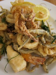 Fritto Misto di Mare a highlight of my dad's visits to Venice
