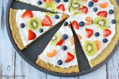 Make this delicious Sugar Cookie Fruit Pizza and you will not be disappointed! This Easy Fruit Pizza Recipe is amazing! You will love this fruit pizza with sugar cookie crust. Fruit pizza recipe sugar cookie will be a hit. Fruit Pizza Recipe With Glaze, Fruit Pizza Frosting, Fruit Pizza Bar, Mini Fruit Pizzas, Easy Fruit Pizza, Easy Sugar Cookies, Sugar Cookie Dough, Sugar Cookies Recipe, Mini Hamburgers