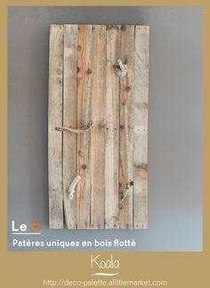 Pinterest le catalogue d 39 id es for Porte manteau en bois flotte