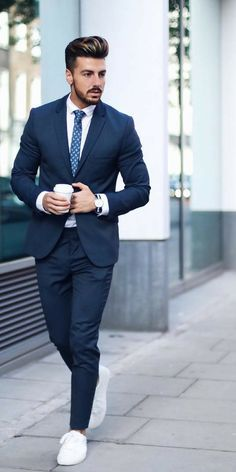 Mens formal street style looks best mens fashion, men fashion photo, mens. Men Fashion Photo, Mens Boots Fashion, Best Mens Fashion, Mens Fashion Suits, Fashion Ideas, Mens Suits, Fashion Tips, Mens Casual Suits, Men's Fashion