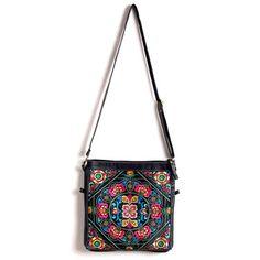 Embi Bags: 6-Way Embroidered Clutch Purse