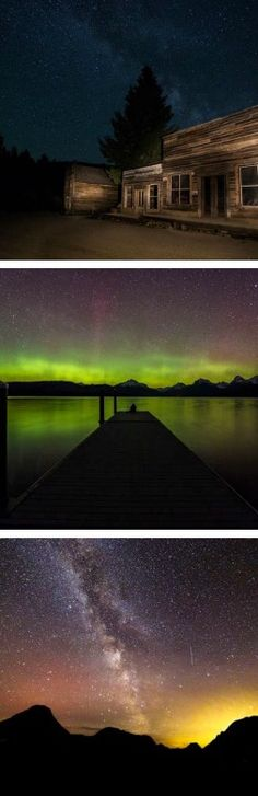 Stargazing and the Northern Lights in Montana!                                                                                                                                                      More