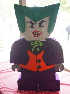 Joker pinata superhero party villain