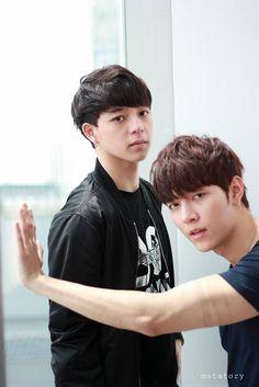 Bas and God Gay Couple, Best Couple, Asian Actors, Korean Actors, Asian Man Haircut, Good Morning Call, 2moons The Series, Miyavi, 2 Moons