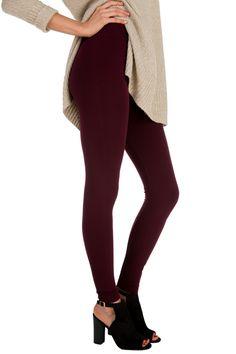 Seamless Fleece Lined Legging