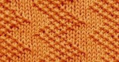 Download PDF file    Cast on a multiple of 10 sts,+ 1.  Row 1 - right side: Knit 1, * (purl 1, knit 1) 3 times, knit 4; repeat from * to e...