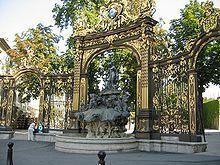 Nancy, France - Place Stanislas – Fountain of Neptune