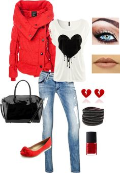 """HEARTS 3"" by shayshay7000 on Polyvore"