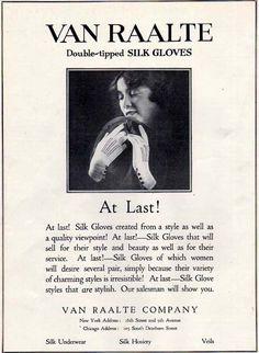 Original Van Raalte Silk Gloves