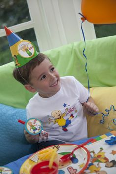 Caillou Party Packs #Birthday #Kids #BirthdayExpress