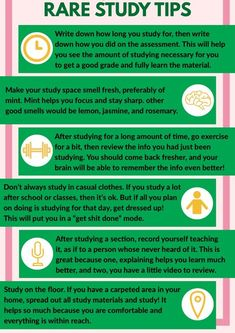 "Rhubarb studies: ""There are rare study tips right on time for the turn of the year. Credit: Tips by . - # - maaghie - Rhubarb studies: ""There are rare study tips right on time for the turn of the year. Credit: Tips b - Study Tips For High School, High School Hacks, College Life Hacks, Life Hacks For School, College Study Tips, Study Tips For Exams, College Essay, Revision Tips, Essay Tips"
