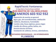 Fontaneros San Martin De Valdeiglesias 603 932 932 Baratos
