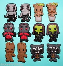 Guardians of the Galaxy Cake Decorations 12 Cupcake Toppers Party Favours NEW