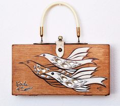 """Enid Collins """"Birds of a Feather"""" Box Bag"""