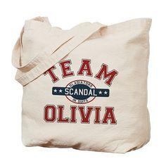 Team Olivia Tote Bag ($15)