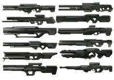 Jimmy Xu Portfolio: Fleet Overwatch Weapons