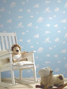 Shop Wallpaper P + S International Collection Happy Kids 05572 – Box of 12 – Free delivery on eligible orders of or more. Kids Room Design, Happy Kids, Boy Or Girl, Toddler Bed, Nursery, Wallpaper, Inspiration, Furniture, Collection