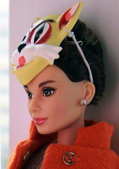 Holly Golightly Barbie! Oh my so cute!