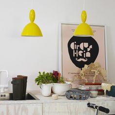 MUUTO - MHY yellow - Lampa wisząca sufitowa - KODY Wnętrza - ciekawe lampy, nowoczesne lampy, designerskie lampy, piękne lampy, oryginalne lampy, ekskluzywne lampy - Design& Concept Store