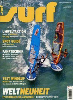 WELTNEUHEIT - Freerideboard zum Aufpumpen. Gefunden in: surf, Nr. 8/2015