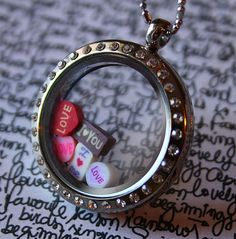 Love Words Floating Charms  Hearts Love I love You I love Me, Romance Tiny Charm Set by RepliKitty, $2.00
